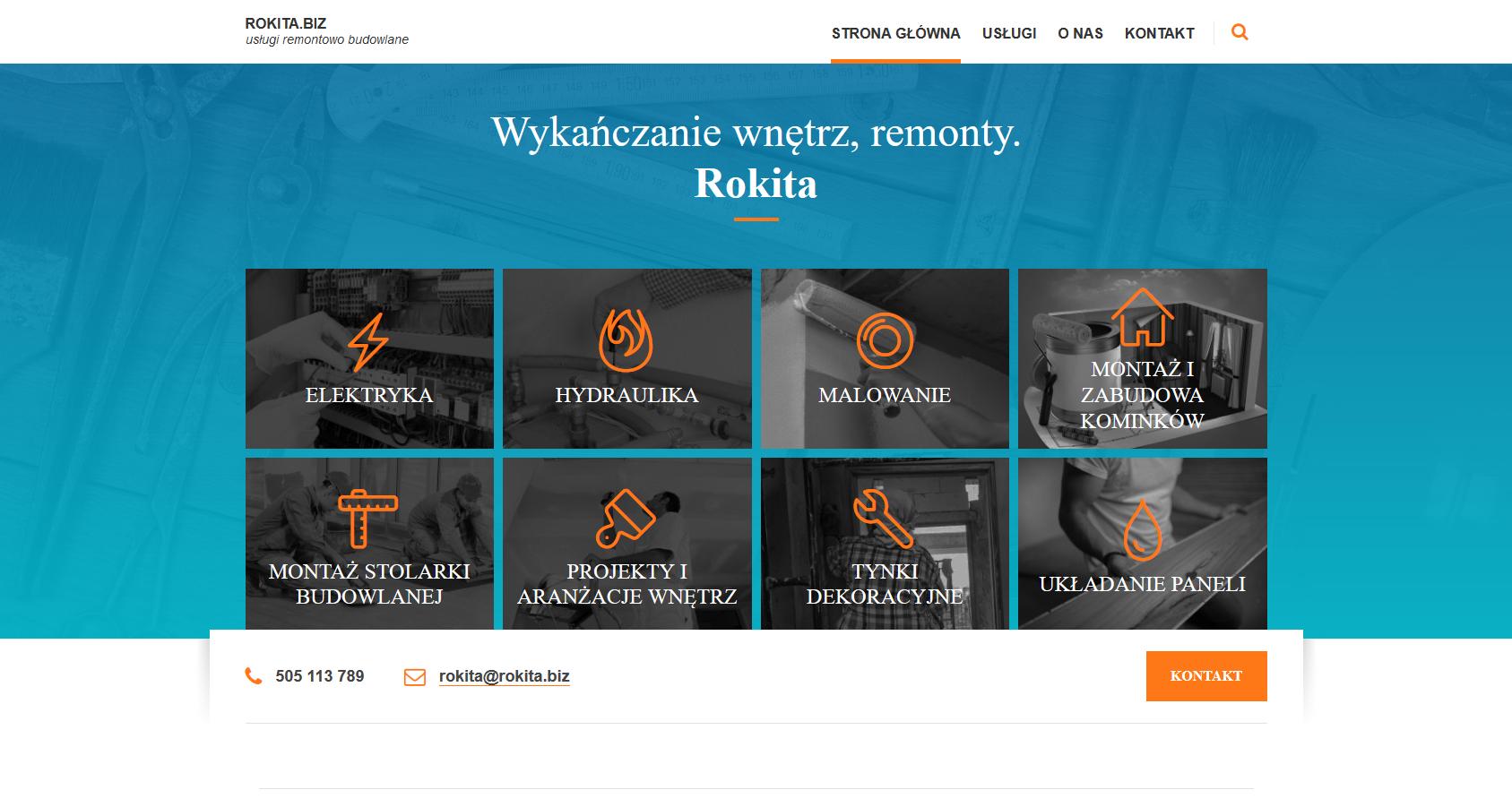 Rokita: usługi remontowo budowlane