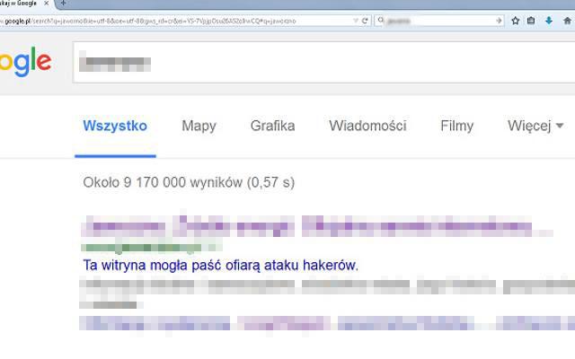 Twoja strona padła ofiarą ataku hakerów